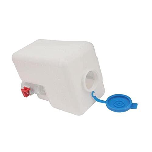 Botella de Bomba de Lavaparabrisas de Coche, 12V 1.5L Tanque de Agua de la Bomba del Parabrisas Interruptor de Chorro Herramienta Limpia Conjuntos Accesorios para Tesla All Models
