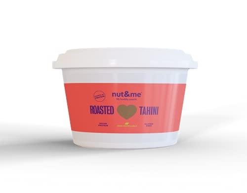 Tahini tostado 250 gramos nut&me | 100% sésamo tostado | NATURAL | Sin gluten - vegetariano - Cocina Árabe - Tahina pasta de sésamo