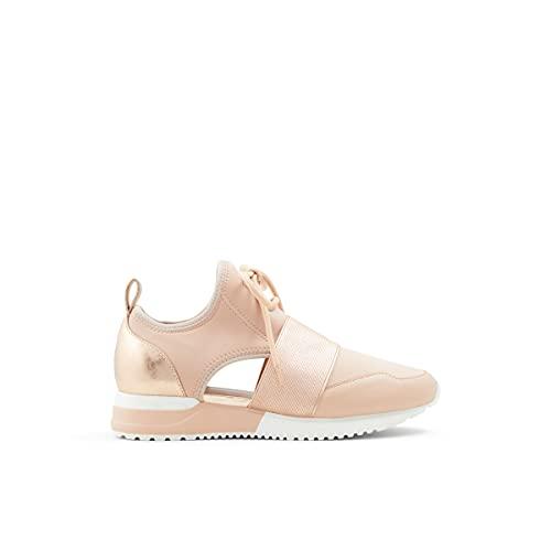 ALDO Women's Dwiedia Sneaker, Light Pink, 7.5