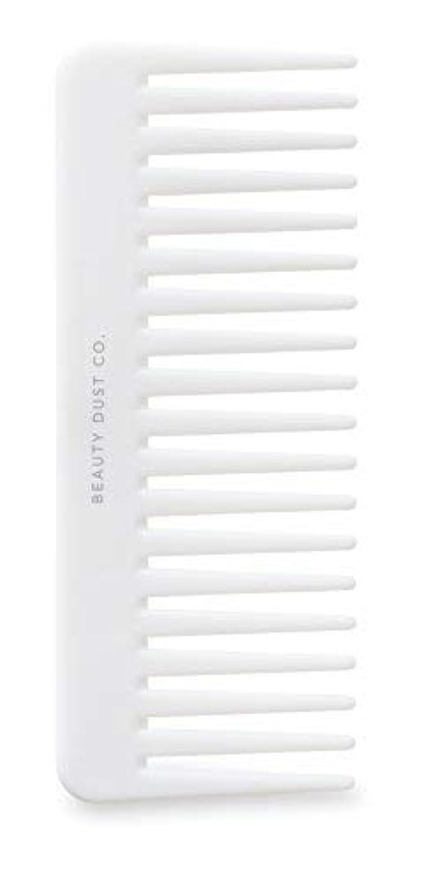 元気なキャンプクラッシュBeauty Dust Co Detangling Shower Comb - Gently Detangles. Helps reduce breakage, fraying and split ends. Wide tooth comb is gentle on the scalp. [並行輸入品]