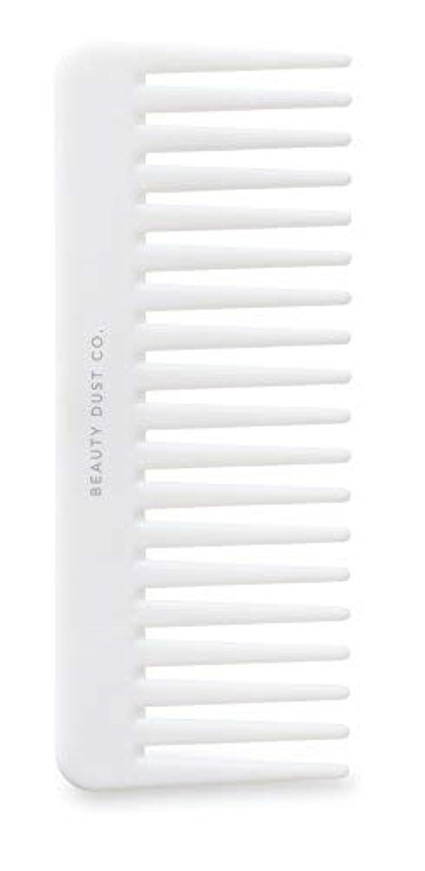 出身地インタラクション学者Beauty Dust Co Detangling Shower Comb - Gently Detangles. Helps reduce breakage, fraying and split ends. Wide tooth comb is gentle on the scalp. [並行輸入品]
