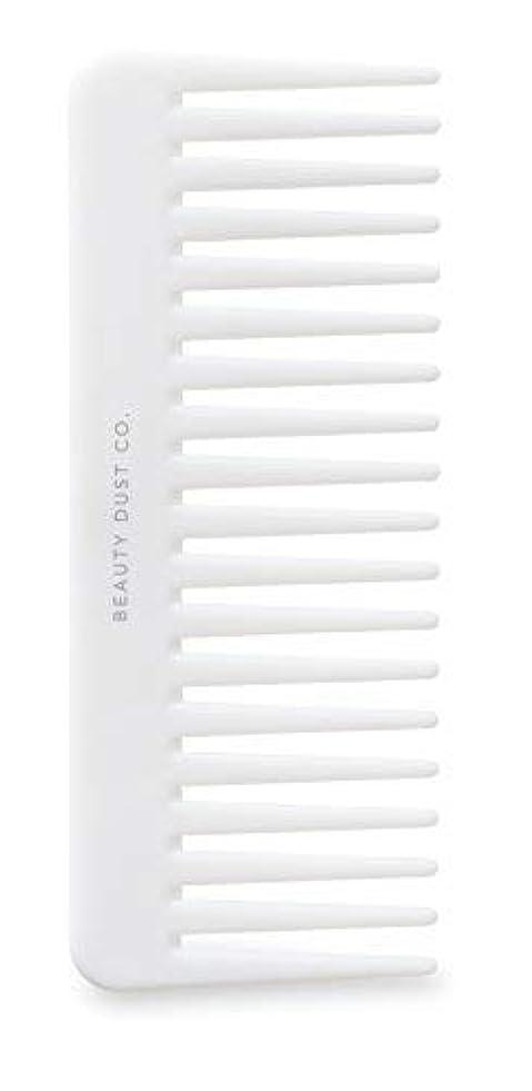 教会元に戻すあえてBeauty Dust Co Detangling Shower Comb - Gently Detangles. Helps reduce breakage, fraying and split ends. Wide tooth comb is gentle on the scalp. [並行輸入品]