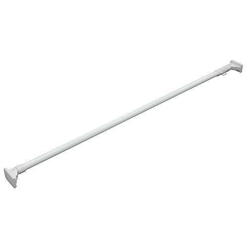 平安伸銅工業 つっぱり棒 ホワイト サイズ(約):幅170~280×高10×奥行6.5cm / 本体重量(約):1.8kg 超強力極太タイプ HGP-17A