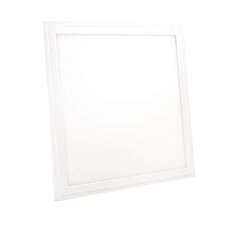 10x LED-paneel 30 x 30cm Slim 24W warm wit 1800 lm plafondlamp kantoor plafondverlichting plafondlamp hoekig plat ophangsysteem met frame incl. transformator 10-pack