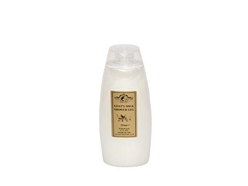 Ziegenmilch Duschgel 250ml für Psoriasis Ekzem Trockene Haut Dermatitis Rosacea empfindliche Haut. Hergestellt in Großbritannien von Elegance Natural Skin Care