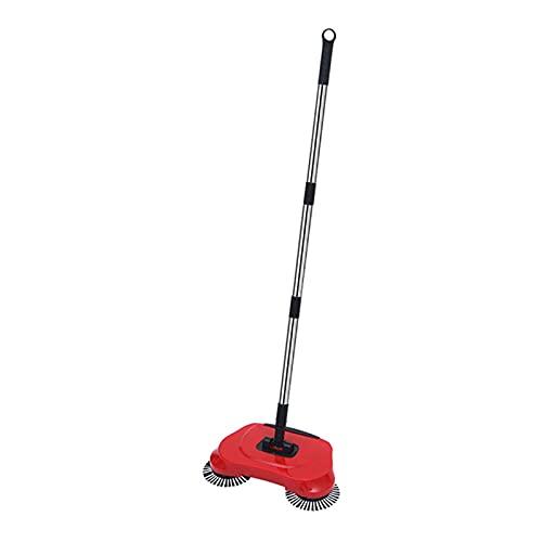 rastrello per tappeti Acciaio inossidabile Acciaio Acciaio Push Push Type Broom Removal Pavimento Tappeto Aspirapolvere Aspirapolvere Strumento di pulizia della casa aspirapolvere senza fili