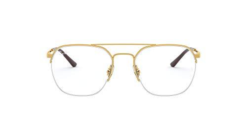 Ray-Ban 処方メガネフレーム US サイズ: 51 mm カラー: ゴールド