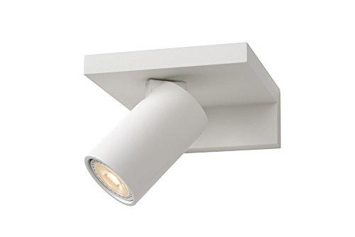 Lucide BLYTH - Applique Murale - LED Dim. - GU10 - 1x5W 3000K - Blanc