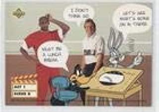 Michael Jordan; Daffy Duck; Joe Montana; Bugs Bunny (Trading Card) 1993 Upper Deck Adventures in 'Toon World - [Base] #ACT1 SCENE 8-11