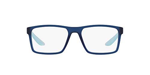 Arnette Coronado, Monturas de Gafas para Hombre, Azul (Fuzzy Translucent Dark Blue), 53