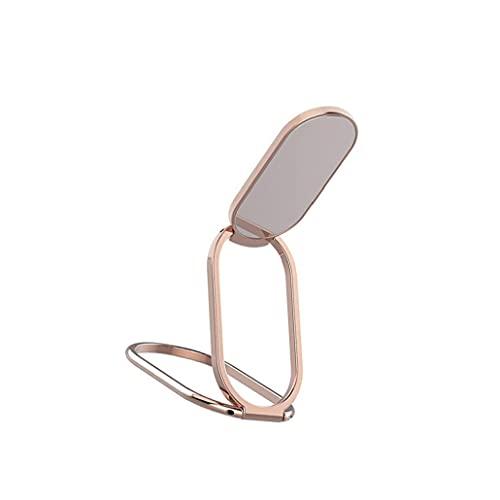 FeelMeet El Soporte del Anillo de teléfono Puede ser girado 360 ° para Ajustar el Mango Posterior del teléfono móvil. Es Conveniente para Todos los teléfonos Inteligentes. El Oro Dedo Titular de Rosa