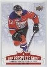 Gabe Vilardi (Hockey Card) 2017-18 Upper Deck CHL - Top Prospects Game #TP11