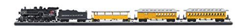 Bachmann Trains - Durango & Silverton Ready To Run Electric Train Set - HO Scale