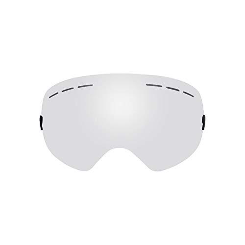 GTRR Skibrille Doppelschicht Anti-Fog Sphärische Windschutzbrille Kann Karten Myopie Mit Wechselobjektiven Sein,3