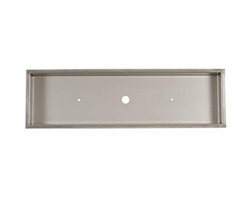 Sale!! EasyFirePits.com Rectangular Stainless Hi Quality Heavy Duty 18 Gauge Drop-in Pans for Linear...