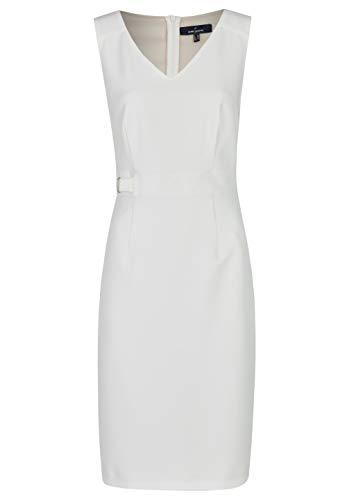 Daniel Hechter Damen Dress Kleid, Weiß (Offwhite 60), (Herstellergröße:38)