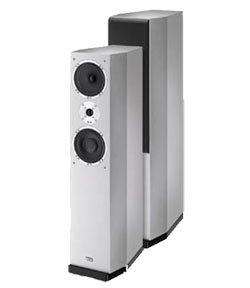 Heco Celan 500 Stand-Lautsprecher silber