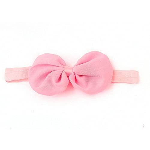 SENZHILINLIGHT A-10 hermosas diademas de flores para bebé turbante para niñas lazos diademas de moda para niños pequeños