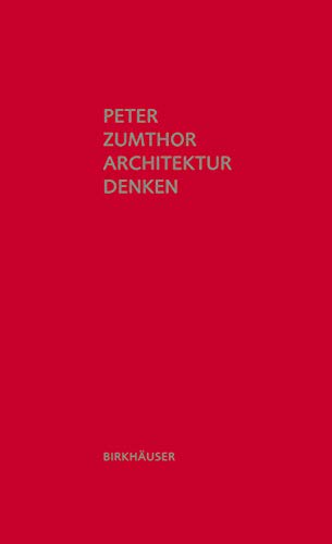 Architektur denken