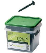 DOJA Industrial Tornillos de Cubierta con Arandela de Acero Autoroscante Tornillo Autotaladrante M-5 PACK 100 5,5 x 50 mm