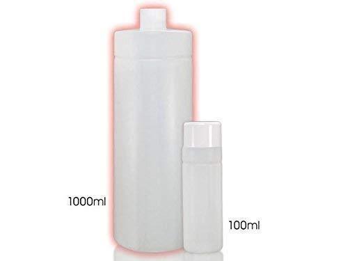 Plastique Bouteilles Bouteille vide 1000 ml - 20 Pièces