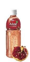 Koreanisches Aloe Vera Getränk - Granatapfelgeschmack - mit Vitamin-C - Paldo - 500ml