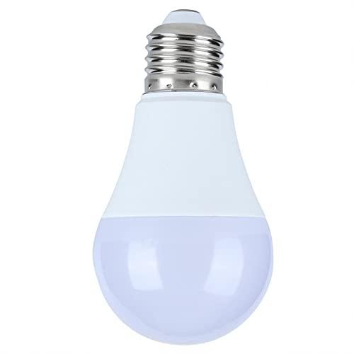 FOLOSAFENAR Amplia compatibilidad 15W 220V Bombilla de luz Inteligente Luz LED Luz de Control de Voz WiFi Bluetooth para iluminación Interior