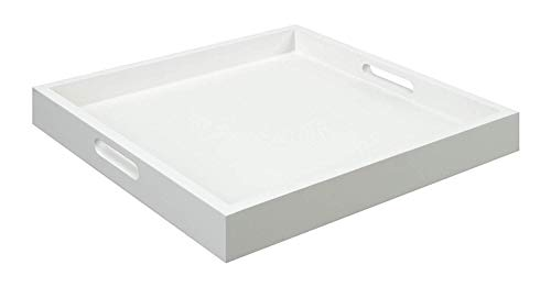 Convenience Concepts Palm Beach Tray, White