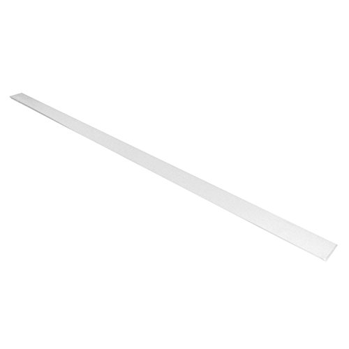 Wandleiste selbstklebend weiß 100x5cm (5)