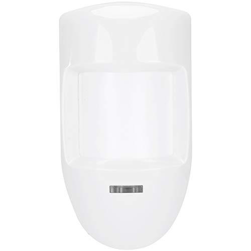 iFCOW Sicherheits-Alarm, 12 V, kabelgebunden, dualer PIR-Bewegungsmelder, Infrarot-Detektor, Warnalarm, Relais,...