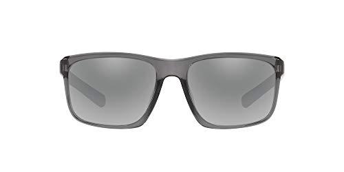 Native Eyewear Wells Polarized Sunglasses, Dark Crystal Gray/Silver Reflex, 58 mm