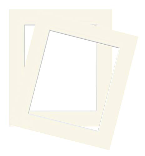 Two Pack of Ivory Picture/Photo Mount Size 30x40cm fits 25x35