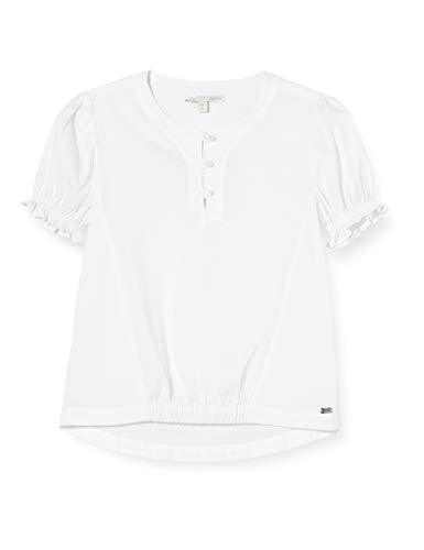 Mexx Mädchen Mexx-954103 Bluse, Weiß (Bright White 110601), (Herstellergröße:...
