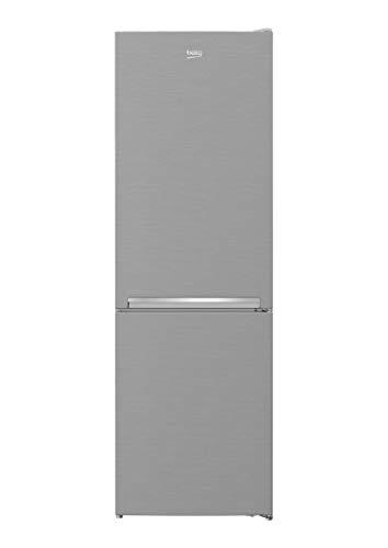 Beko Frigorífico congelador RCSA366K40XBN con 3 cajones y 38 dB, aspecto de acero inoxidable