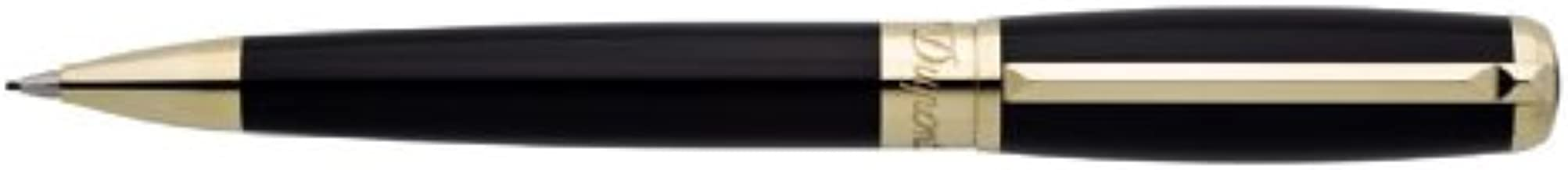 S.T. Dupont Elysee Black and Gold .7mm Pencil - 416574