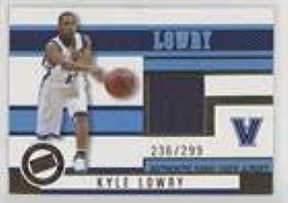 Kyle Lowry #236/299 (Basketball Card) 2006 Press Pass - Jerseys - Gold #JC/KL