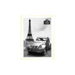 plaque métal 20x15 cm pub retro citroen 2cv modèle année 1948