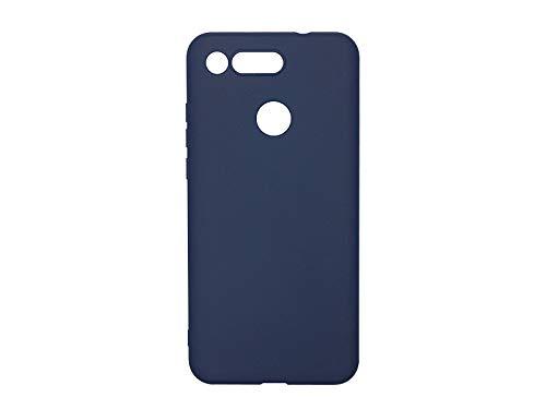 Hülle für Huawei Honor View 20 - Hülle Soft Flex - Marineblau Handyhülle Schutzhülle Etui Hülle Cover Tasche für Handy