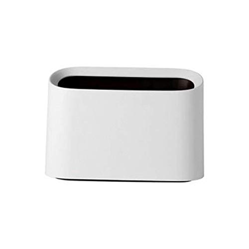 XINLANYU Creative small Trash can Home Office Desk Living Room Bedroom Mini Bedside Trash can