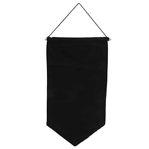 Tnfeeon Broche Pin Soporte de exhibición para Colgar en la Pared, Almacenamiento de Insignias Colección de Tela Pendientes Collar Organizador de colección de alfileres Brillantes(M-Negro)
