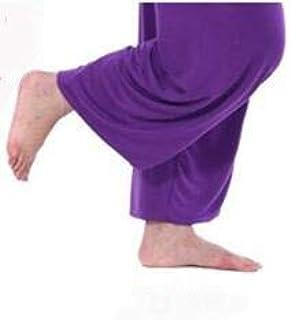 BEESCLOVER Super Loose Sweatpants Yoga Pants Men Men's Pyjama Trousers Sleep Bloomers Pants Asia M-3XL Purple XXL