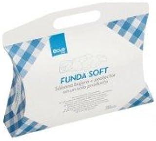 Ecus Kids Soft 3 en 1 - Protector colchón , Blanco, 120x60