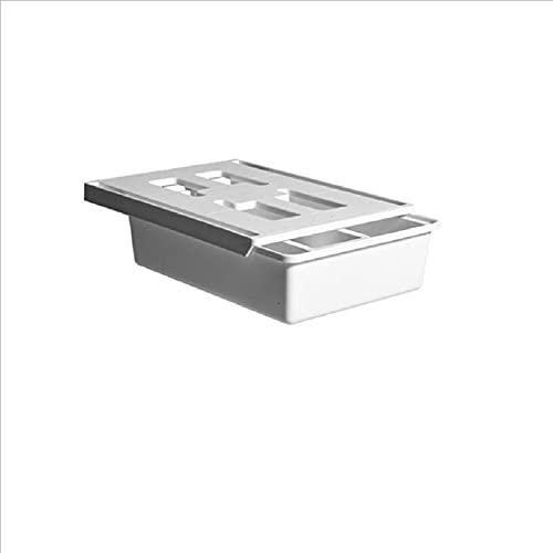 Cajón debajo del escritorio ABS debajo del cajón de la mesa oculta debajo del escritorio cajón autoadhesivo bandeja de lápices unidades para almacenamiento en casa oficina
