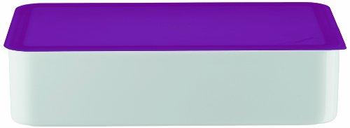 Arzberg Form 3330 Küchenfreunde Frischebox mit Kunsstoffdeckel 15 x 25 cm, violett