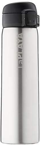 LaPlaya Trinkflasche New Bubble Safe Stainless Steel, M