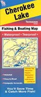 Cherokee Lake Tennessee Fishing Map (Tennessee Lake Maps, A401)