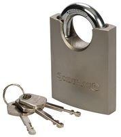 Preisvergleich Produktbild Silverline 260329 Vorhängeschloss mit Bügelschutz 70 mm