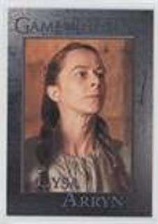 Game of Thrones 2017 Game of Thrones Valyrian Steel Base Metal Card #90 Lysa Arryn Verzamelkaarten, ruilkaarten