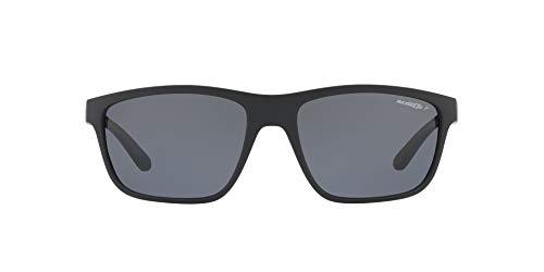 Arnette Booger, Gafas de Sol para Hombre, Negro (Matte Black), 61