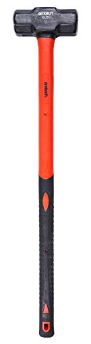 Am-Tech - Mini piccone con impugnatura in fibra di vetro, 2,7 kg